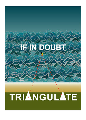 triangulate in the surf