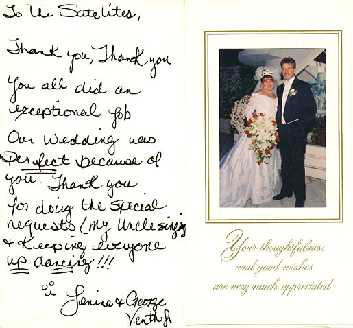 Wedding Thank You Etiquette.Wedding Thank You Note Etiquette