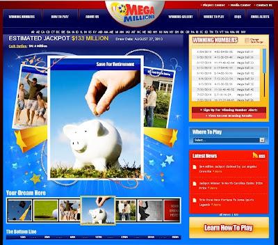 Mega Millions California Lottery Draws