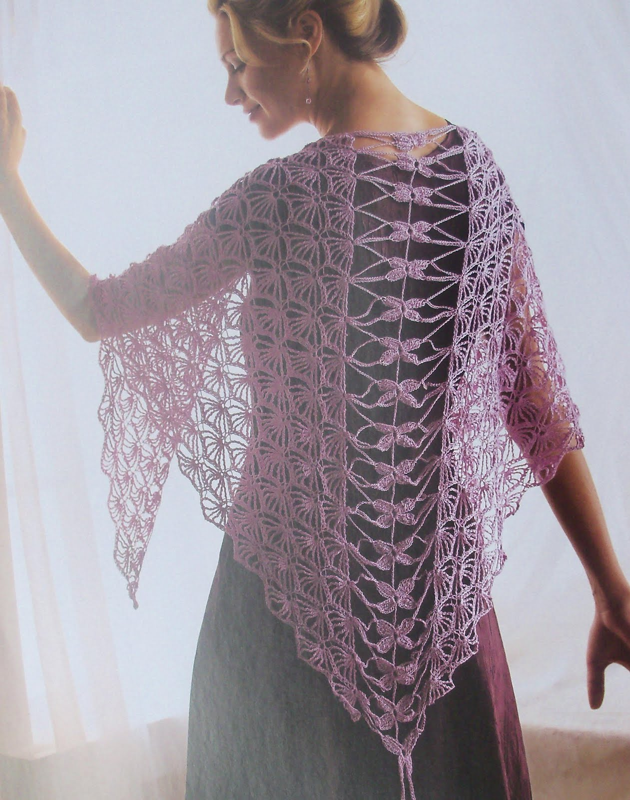 Free very easy crochet shawl patterns myideasbedroom com