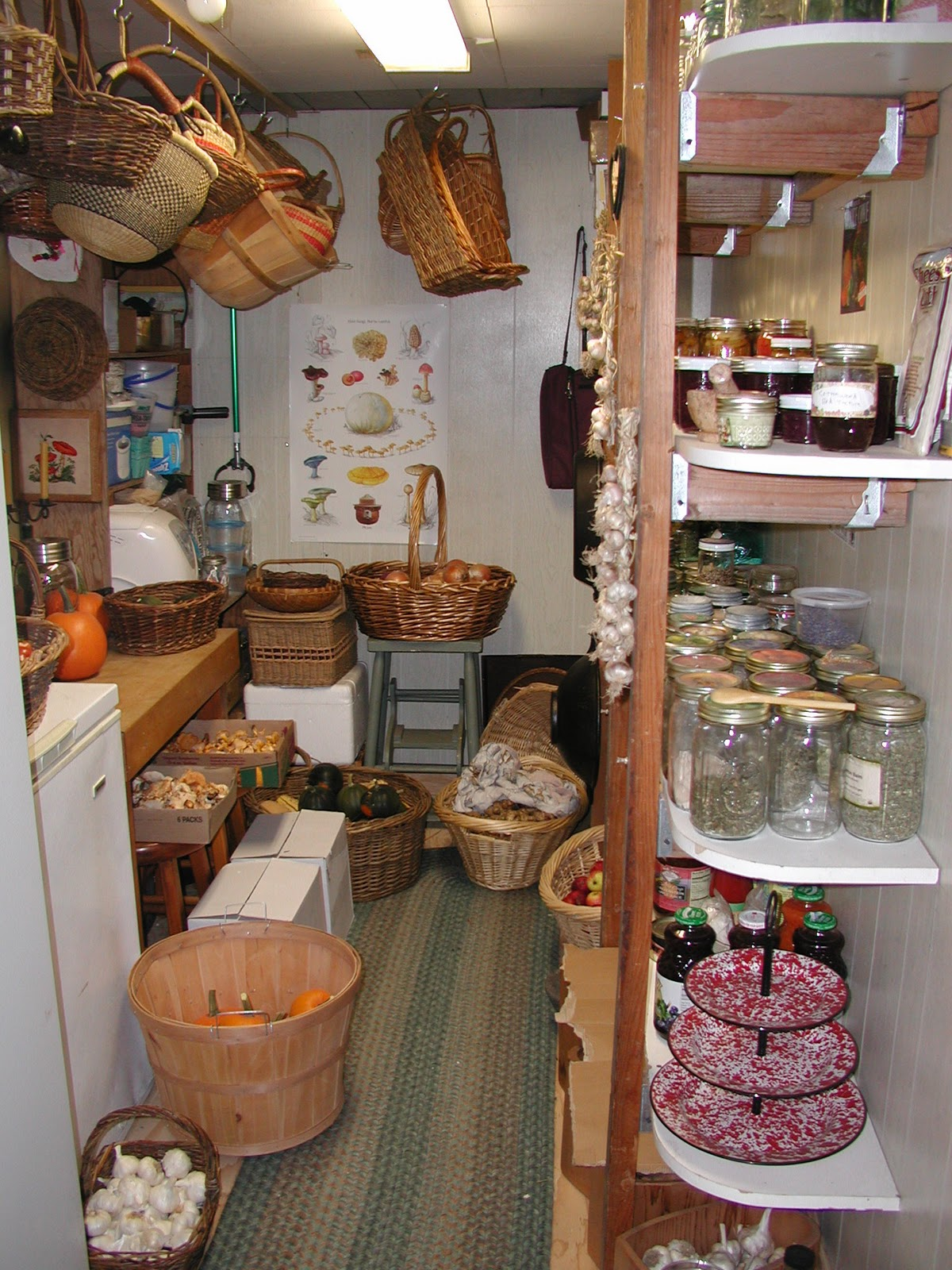 A Full Farm Pantry A Mountain Hearth