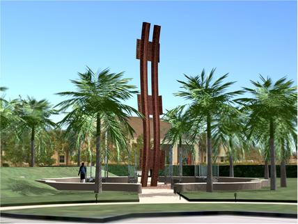 Steel Beam From Twin Towers Bombing Bound For Palm Beach