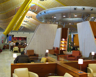 Iberia Business Class lounge at Madrid's Barajas Airport