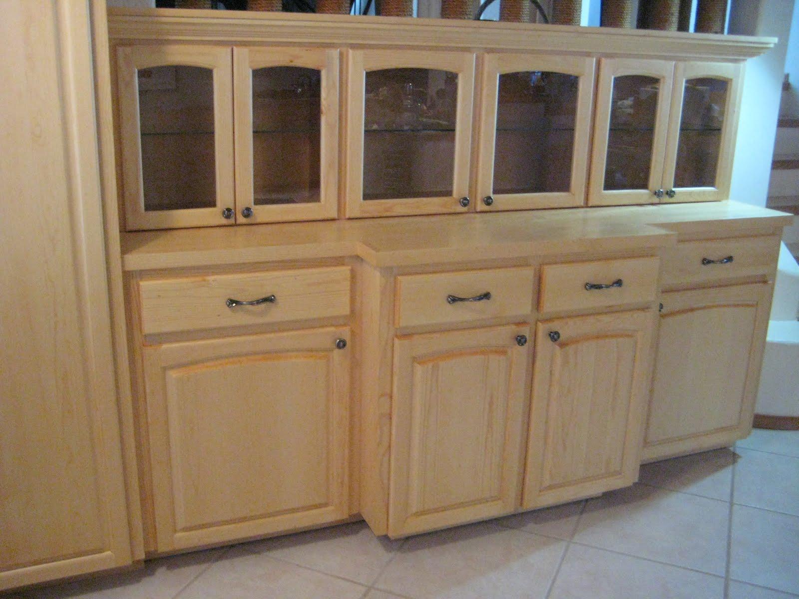 Depressioneradesigns Custom Clear Pine Cabinets