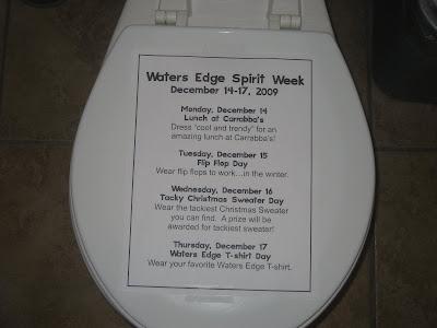 Spirit Week at the Waters Edge Office \u2013 robshep