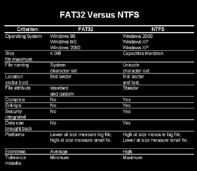 What is the Difference Between NTFS and FAT32 File Systems
