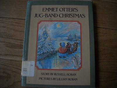Emmet Otters Jug Band Christmas Book.Remains Of The Day Christmas Book Countdown Week One