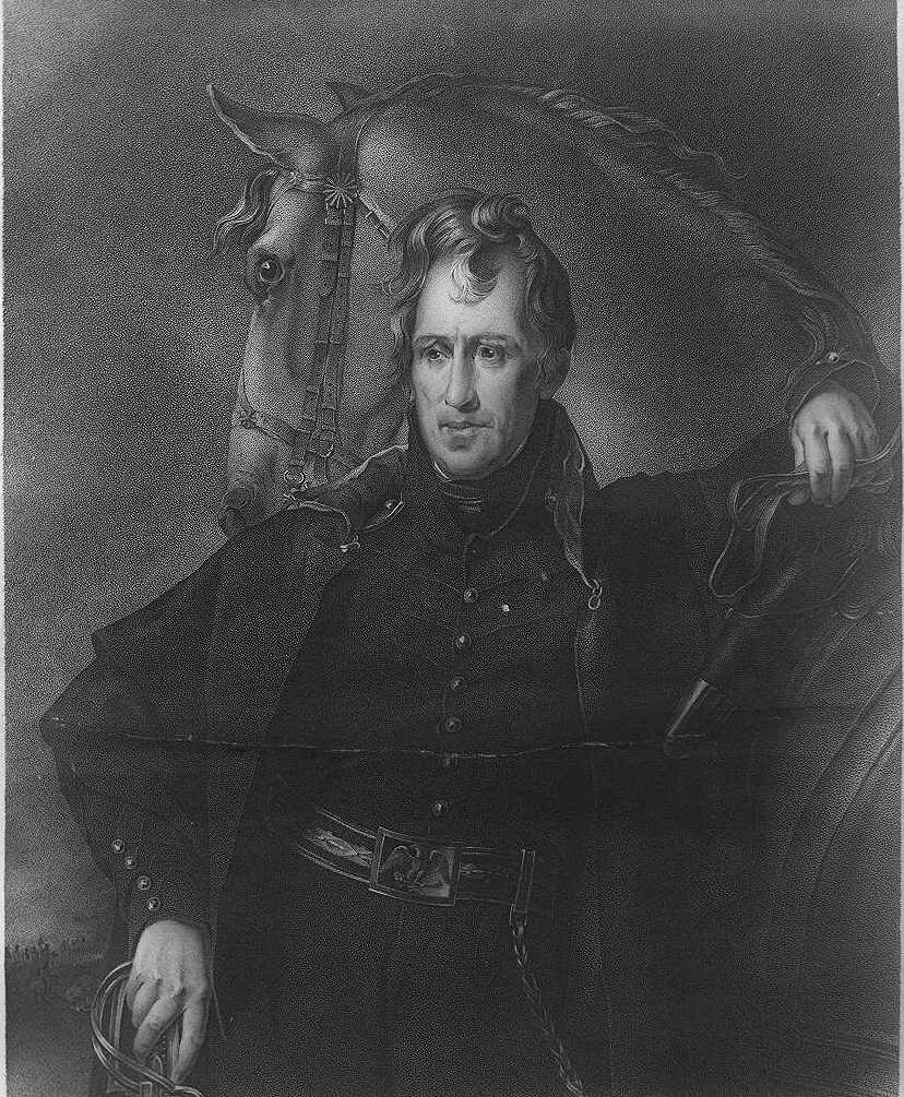 the new jacksonian blog jacksonian nationalism and american andrew jackson as r tic military hero