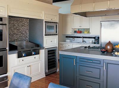 Urban Kitchen and Bath: The mismatched kitchen island...do ...