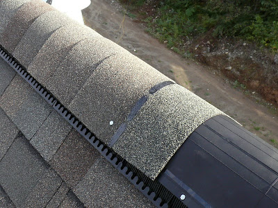 Building A House A Simple Plan Ridge Vent Details