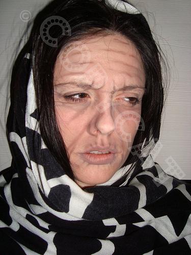 Halloween makeup Old Lady look | SMASHINBEAUTY