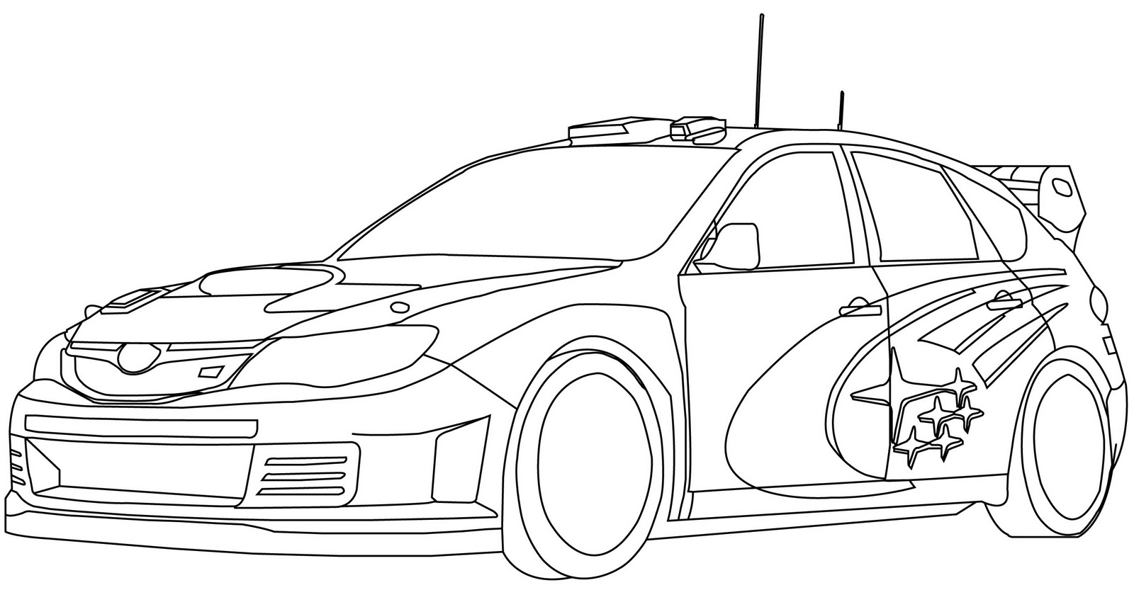 subaru outback coloring pages - photo#6