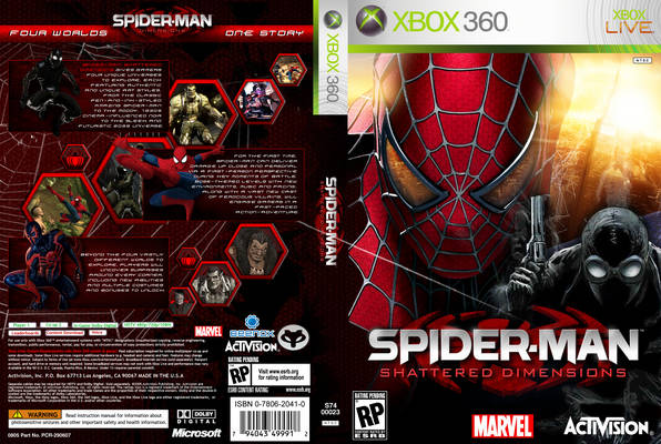 spider man xbox360 - valueis.site90.netXbox 360 Game Cover Dimensions