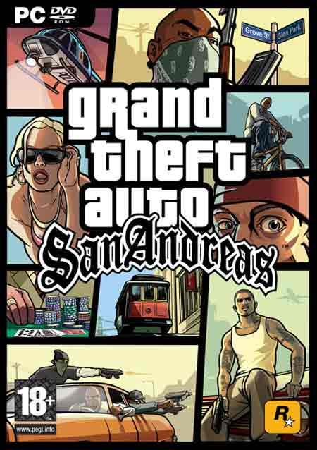 The gta place san andreas maps.
