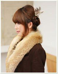 Kepang Rambut Pendek Ala Korea