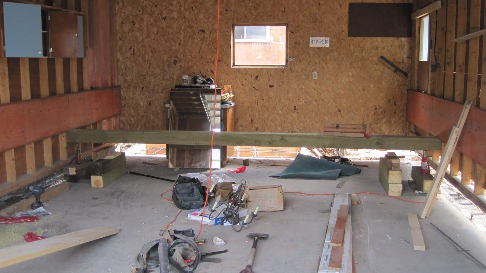 To Garage: Fairholme Design: Canmore Renovation