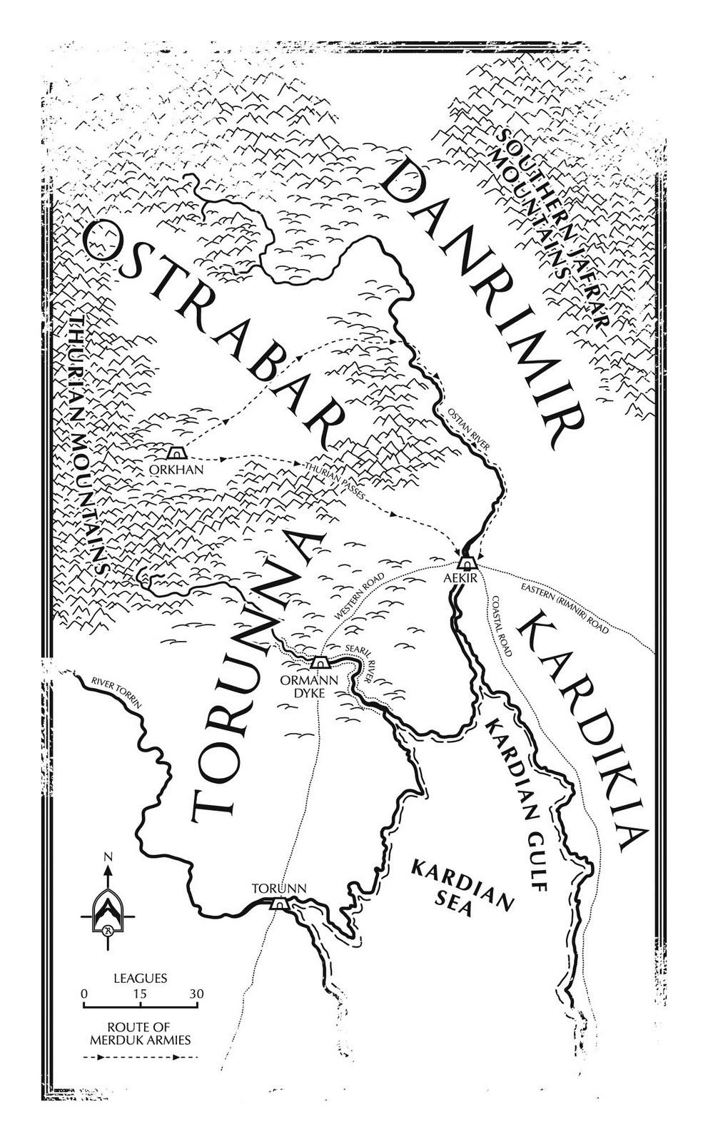 Fantasy Novel Maps