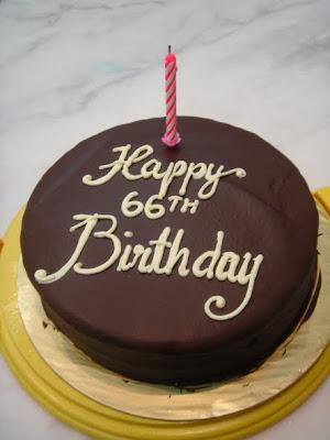 Yochana S Cake Delight Happy 66th