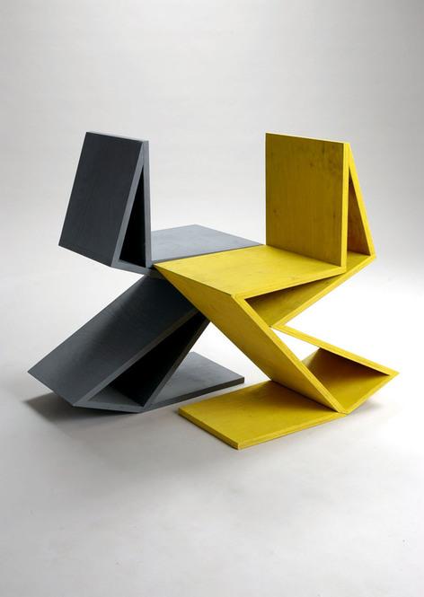 kingy design history DEAN NUTLEYZig Zag Chair Gerrit