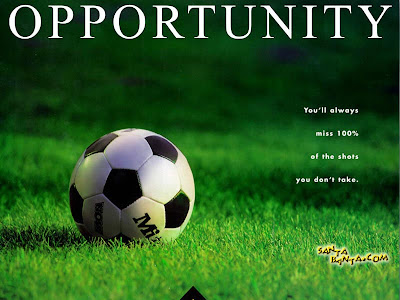 Motivational Wallpaper on Importance of Opportunity