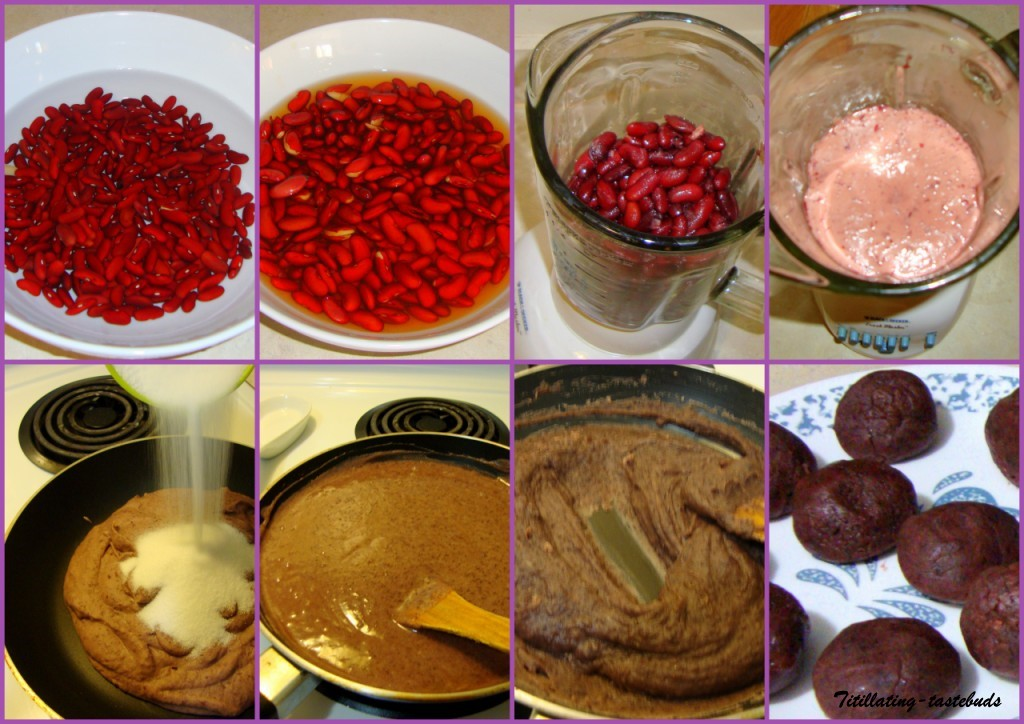 How To Make White Kidney Bean Paste