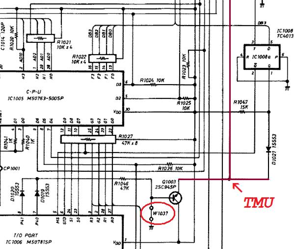 de draaggolf ~~~~~: Icom IC-M700D mod