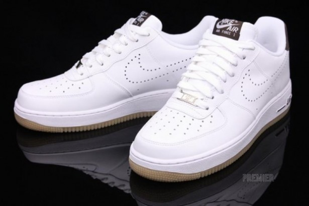 the best attitude 52151 53596 315122-138 Nike Air Force 1 White Dark Cinder Gum   Retro Jordan Shoes