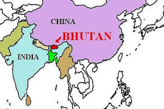 Bhutan Map (Improve Your General Knowledge in Leisure Time!)