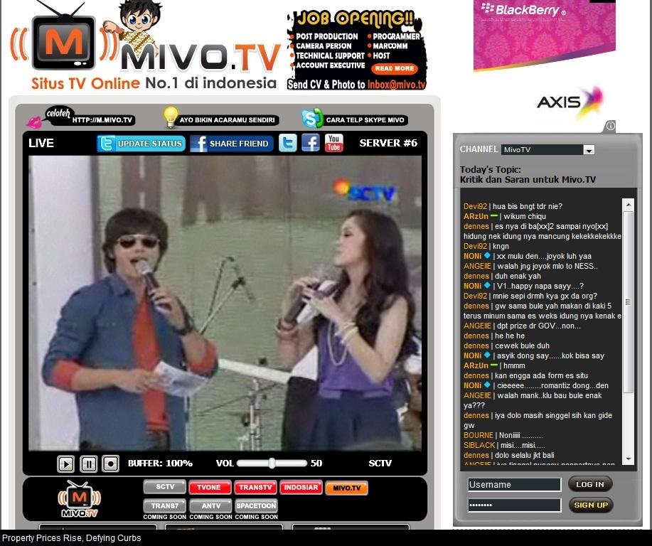"Sctv Live Stream: Dunia Tips N Trik: Nonton TV ""gak"" Pake TV"
