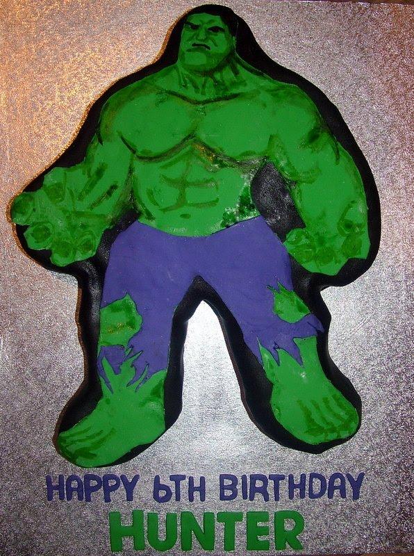A Piece Of Cake Incredible Hulk Cake