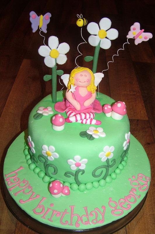 A Piece Of Cake Fairy Garden Cake