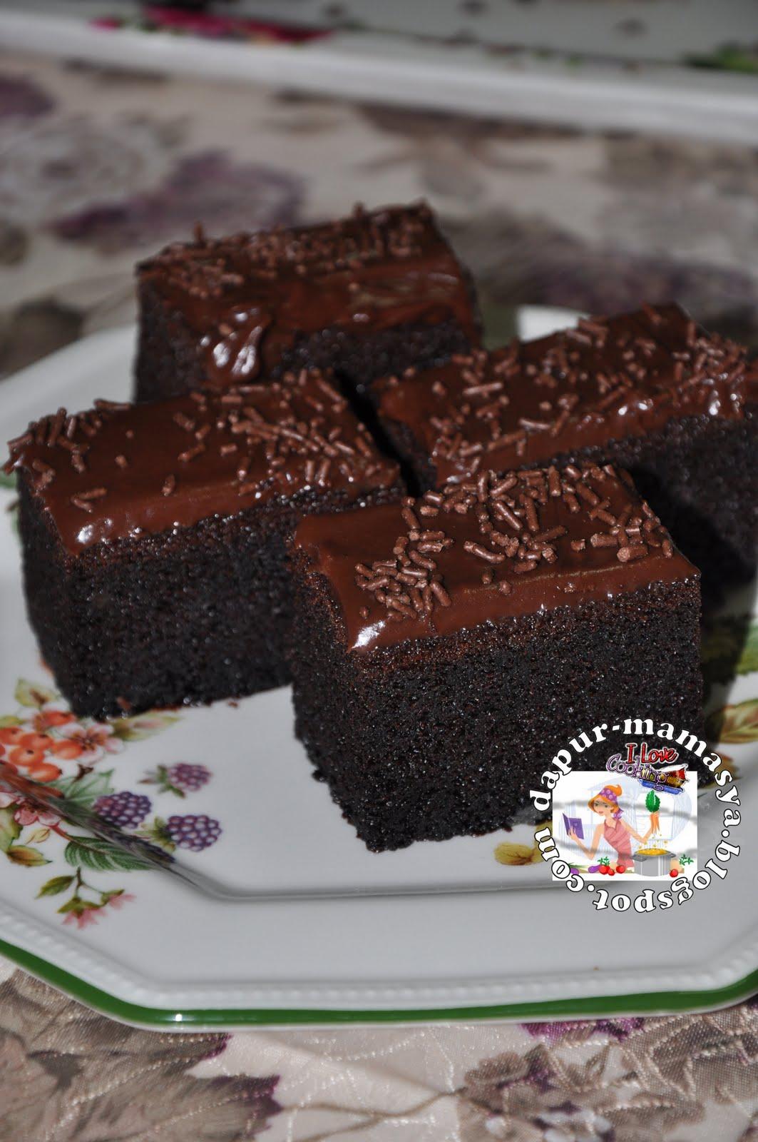 resepi brownies minyak surat rasmi Resepi Kek Coklat Sukatan Cawan Enak dan Mudah