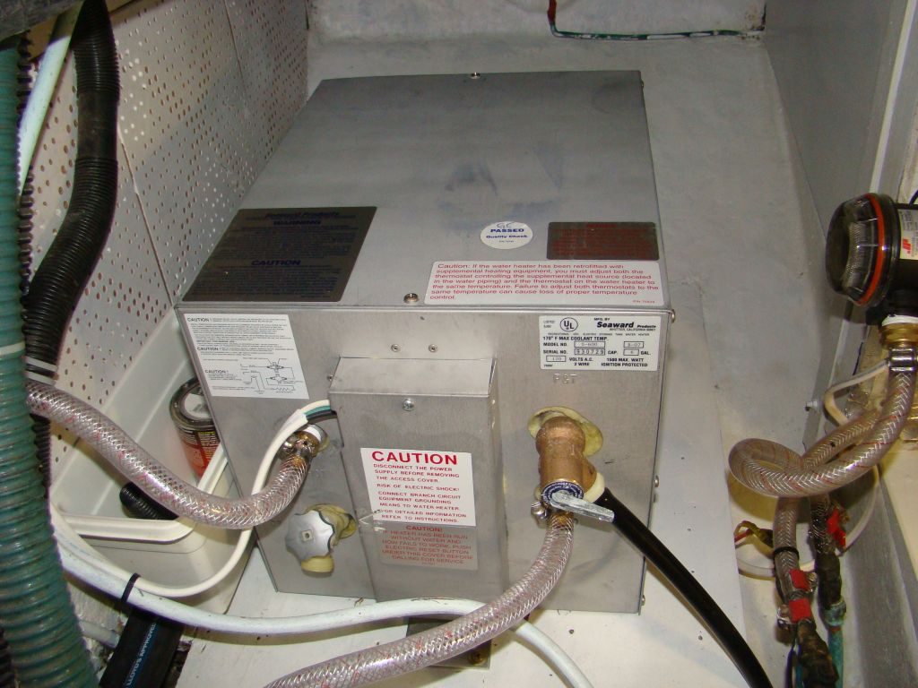The Trawler Beach House: Mystical Water Heater and Engine ...