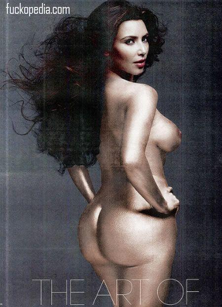 kim kardashian frontal nude