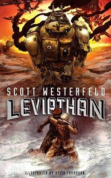 Stomping on Yeti: Covering Covers: Behemoth - Scott Westerfeld