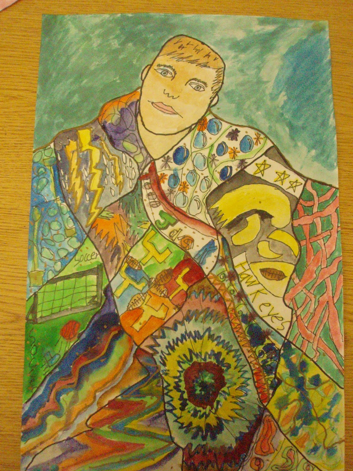 Ms Matsuoka S Art Room 4th Grade Gustav Klimt Inspired