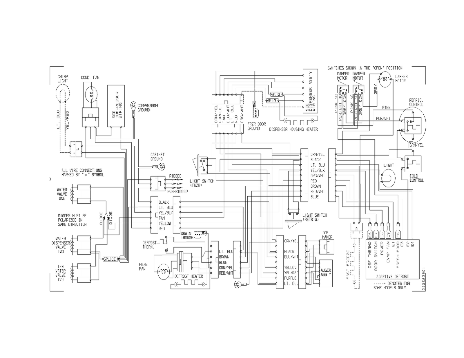 hight resolution of youtube whirlpool ice maker wiring diagram best wiring librarywhirlpool ice maker parts diagram solenoid whirlpool ice