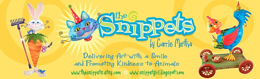 Get Your Daily Snips....Snippet Girl talks Art and Animals
