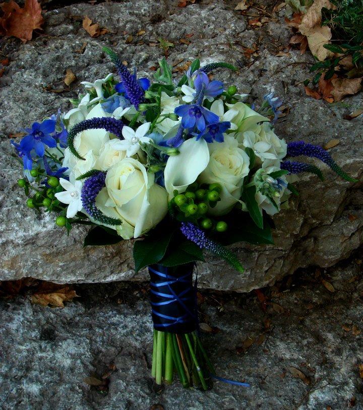 Blue Bouquet Flowers 47