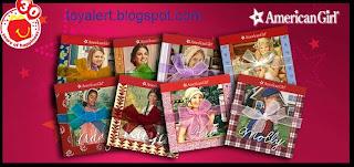 McDonalds American Girl books 2009 - Set of 8 Books - Julie, Molly, Kit, Josefina, Kaya, Addy, Kirsten, Felicity