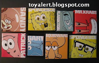 Burger King Spongebob Truth or Square Toys 2009