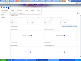 add a blogger sitemap to msn bing webmaster tools blog