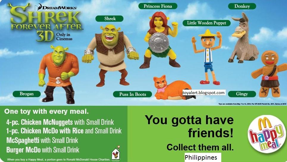 Mcdonalds Shrek Toys 47