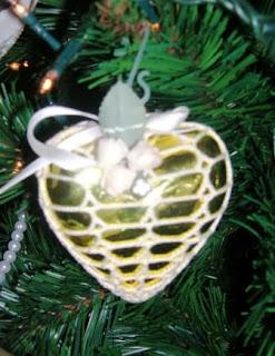 Il Filo Che Crea Cuori Alluncinetto Per Lalbero Di Natale