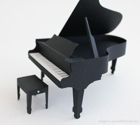 Creative Ideas For You Paper Grand Piano