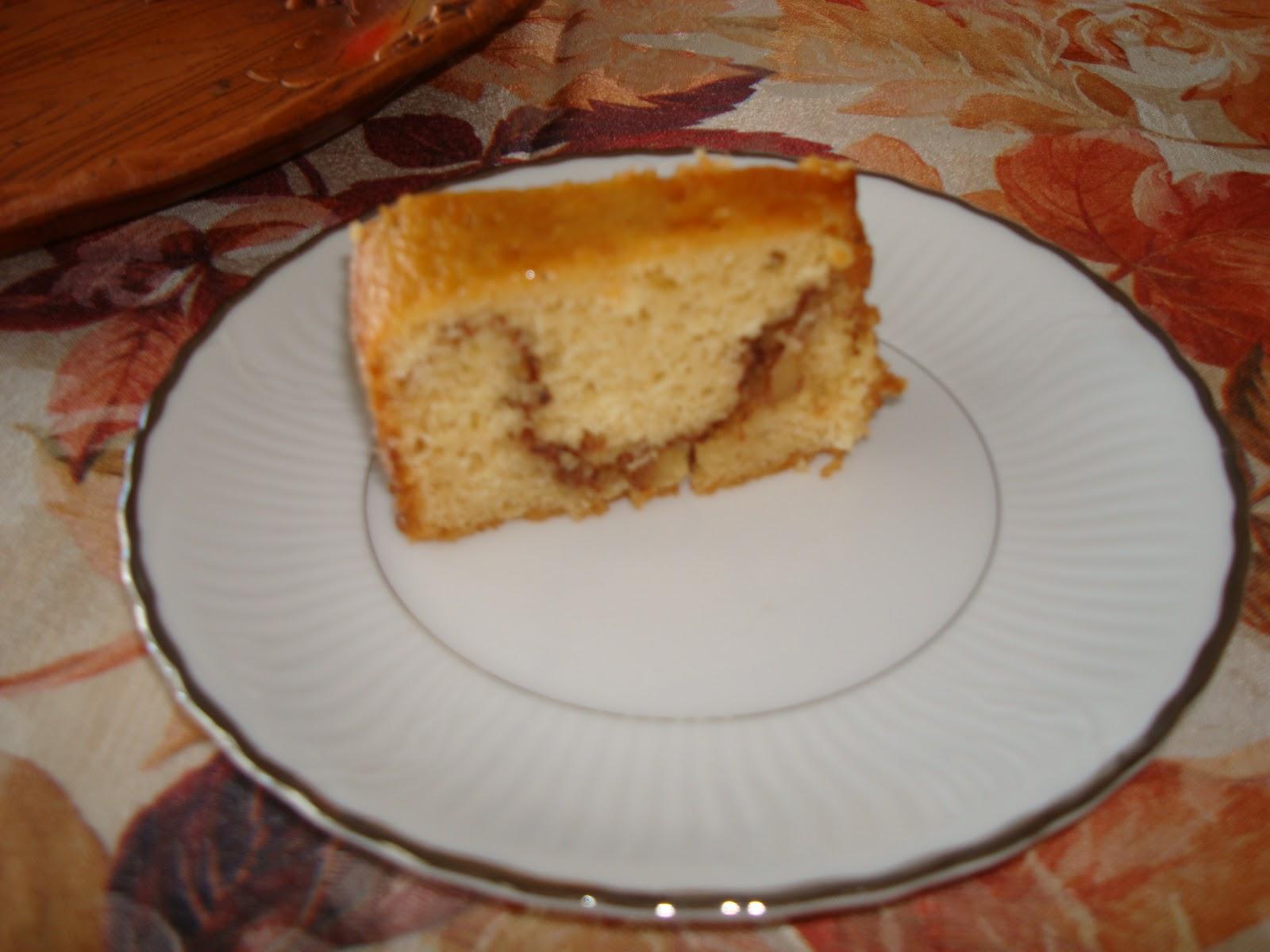 Applesauce Bundt Cake
