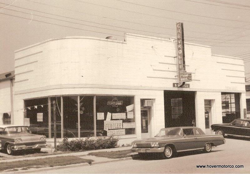 Dodge Dealership Houston >> HOVER MOTOR COMPANY: Vintage car dealership photos from ...