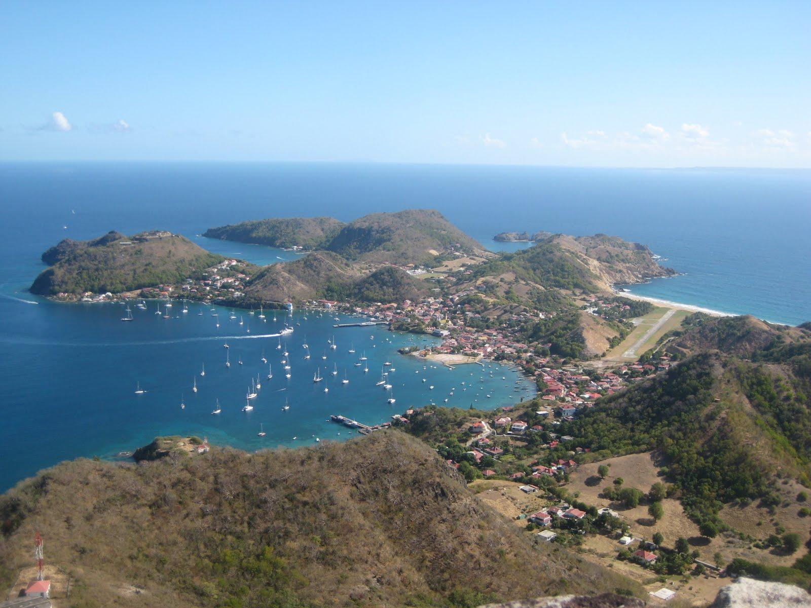 Explore The Beauty Of Caribbean: Sailing Synchronicity: Isles Des Saintes, Guadeloupe