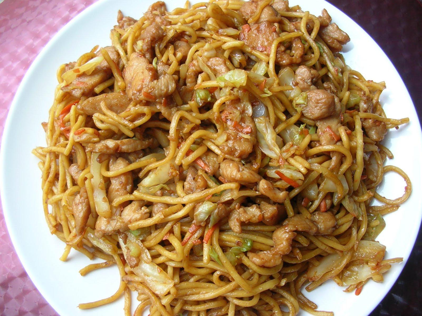Loretta Simple Recipes Shredded Pork Chow Mein