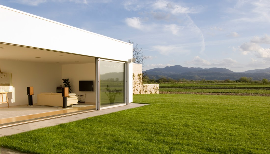 Sliding glass walls of the house in slovenia most for World no 1 beautiful house